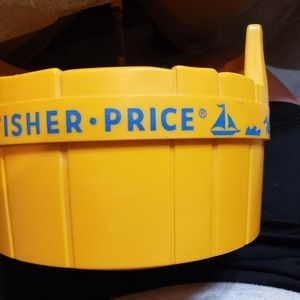 Fisher-Price Accents - Vintage Fisher Price three men in a tub